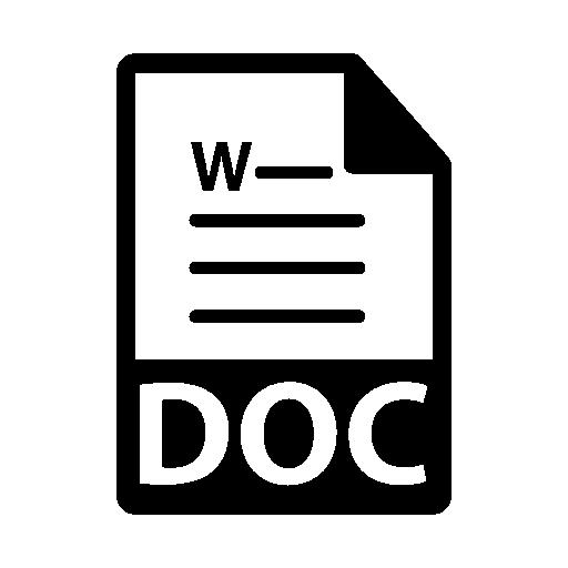 Lettre de résiliation au format Word